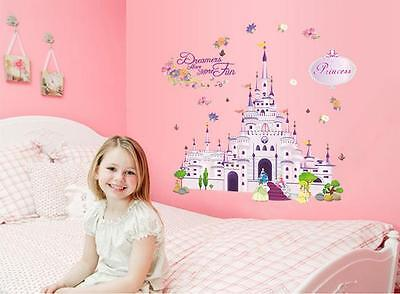 Big castle Home Room Decor Removable Wall Stickers Decal Decorations
