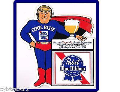 Tool Box Magnet Pabst Blue Ribbon Beer Logo Refrigerator