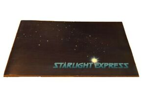 Starlight-Express-Vintage-1980s-Program-Booklet-30-Pages-Ads-Entertainment-Drama