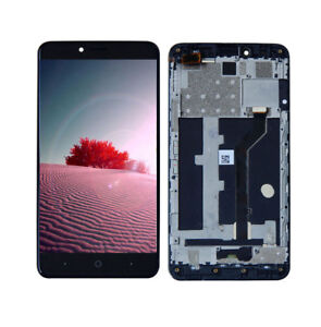 LCD-Screen-Digitizer-Touch-Frame-For-ZTE-Blade-X-Max-Z983-Cricket-6-0-034-Part-US