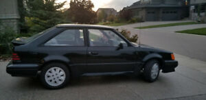 1986 ford escort GT second owner