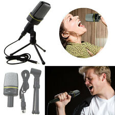 US Professional Podcast Studio Microphone w/ Stand Skype Webcast Youtube Video