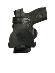 Leather-Kydex-Paddle-Gun-Holster-LH-RH-For-Sig-Sauer-P320-Compact