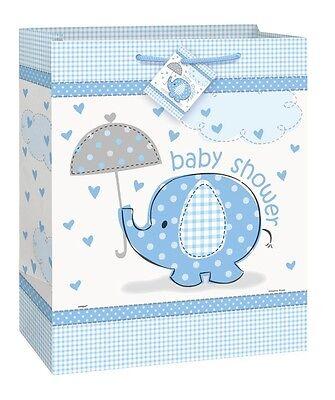 """Baby Shower Medium Gift Bag 9"""" x 7 in (Girl/Boy/Party/Present/Children) (Unique)"""