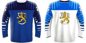 NEW-2019-Finland-Suomi-Hockey-Jersey-KAKKO-RANTANEN-AHO-LAINE-ANTTILA-RASK-NHL