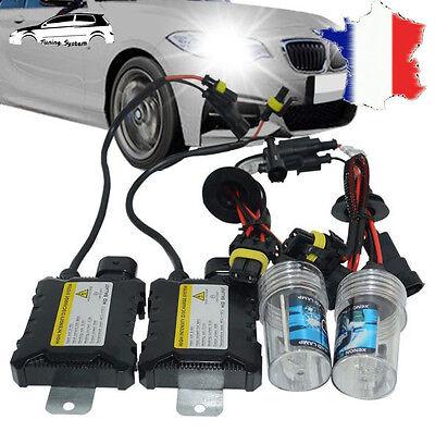 kit xenon ballast 55w h7 8000k slim hid feux conversion ampoule renault fiat ebay