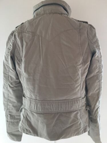 6 Strauss Ladies Levis Cappotto Xs Beige Nuovo 8 Donna Imbottito Levi Jacket z1wRq455