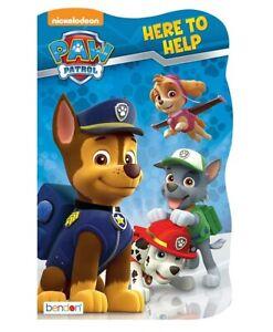 NEW-NICKELODEON-PAW-PATROL-HERE-TO-HELP-CHILDREN-039-S-BOOK-313841
