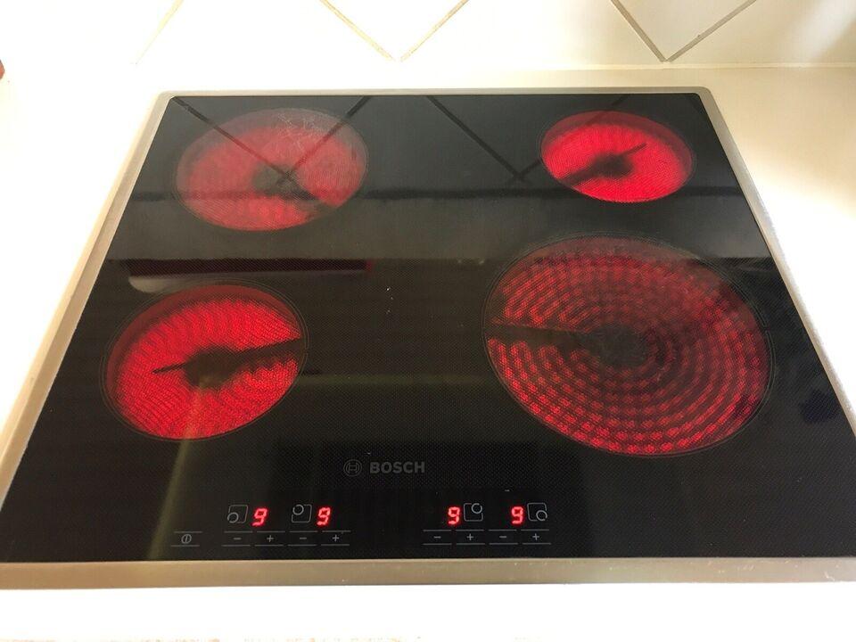 Glaskeramisk kogeplade, Bosch HTET715, b: 57 d: 52