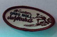 Vintage Greg Noll Embroidered Patch 3 Oval