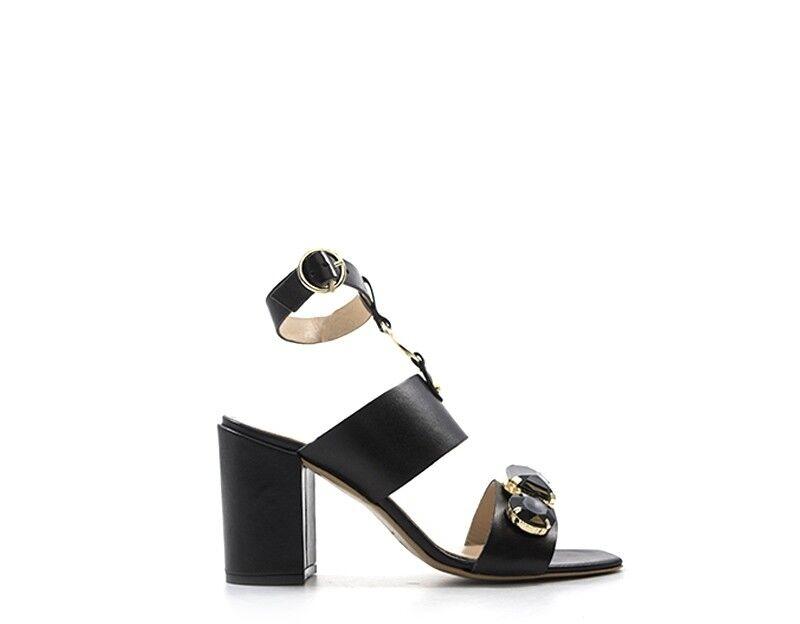 shoes LIU JO women Sandali Alti  black Pelle naturale S18131P016822222