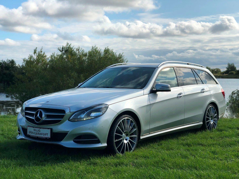 Mercedes E200 2,2 BlueTEC stc. aut. 5d - 299.600 kr.