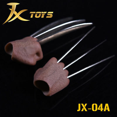 1:6 JXtoys Flexible JX04A fist claw hand type For Wolverine ZC toy Figure Body