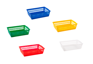 PACK-OF-FIVE-5-SMALL-KITCHEN-OFFICE-HOME-HANDY-BASKET-STORAGE-BOXES-BIN-25CM