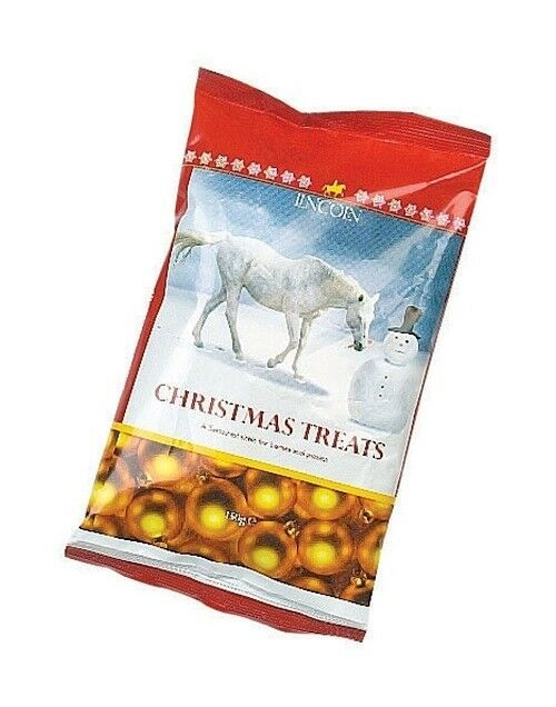 Lincoln Christmas Horse Bix - With a naturally flavoured titbit