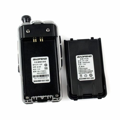 BaoFeng FF-12P Dual Band U//V Ham Transceiver DCS CTCSS Two way Radio Walkies