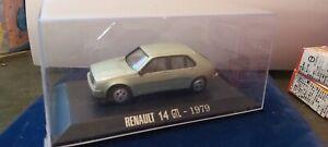 IXO-1-43-RENAULT-14-GTL-1979-NEUF-EN-BOITE