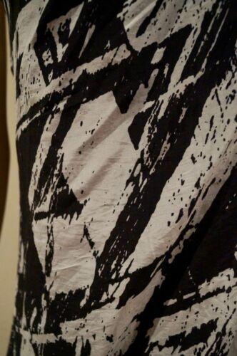 Helmut Black Lang Draped Cream 4 Silk Sleeveless Front Rear Racer Blend Dress qfqrwTA1x
