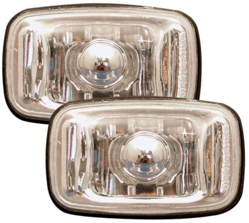 Toyota Surf//4-RUNNER 92-95 Crystal Clear Chrome Side Light repeater Indicators