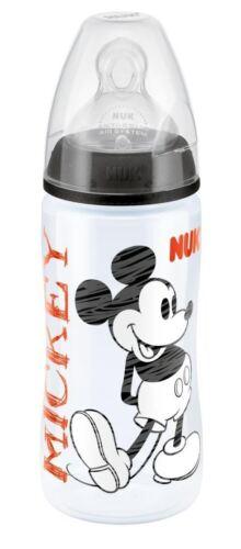 300ml Flasche Gr��e 2 Black 6-18m 1 2 3 6 12 Packs NUK First Choice Mickey