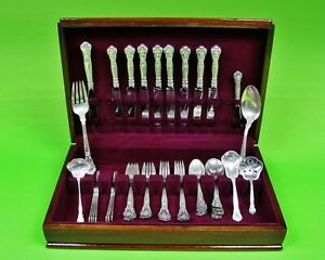 Chantilly-by-Gorham-Sterling-Silver-Flatware-Set-For-8-59-Pieces