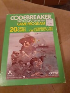 CODEBREAKER-for-ATARI-2600-COMPLETE-IN-THE-BOX-FREE-SHIPPING