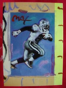 EMMITT-SMITH-PETER-MAX-1997-TOPPS-GALLERY-FOOTBALL-CARD-PM-3-L-K-GREAT-COND