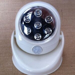 wireless motion activated detector auto sensor led light. Black Bedroom Furniture Sets. Home Design Ideas