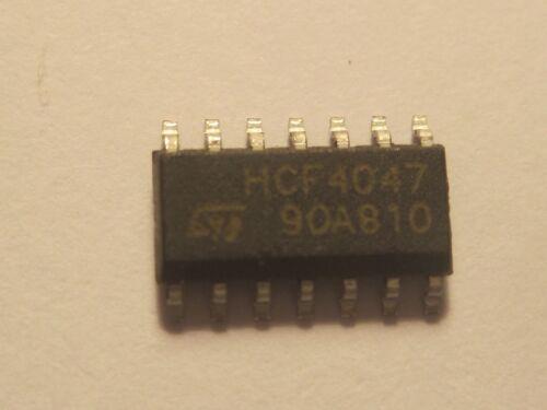 HCF4047 Low Power Monostable//Astable Multivibrator SOP14 ST 5pcs