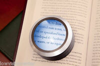 5x Led Brightfield Illuminated Dome Magnifier Lots Of Light Great For Low Vision