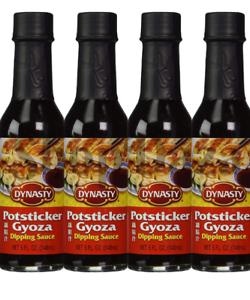 Dynasty Potsticker Gyoza Dipping Sauce Asian Style 4 Bottles X 5
