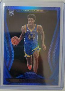 2021 Certified Basketball James Wiseman Blue Parallel Rookie Refractor SP RC
