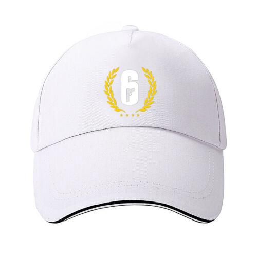 Rainbow Six Siege baseball cap hip hop hat Rapper/'s men Snapback sun hat