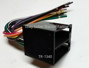 Details about Volvo Big Rig Truck Stereo Wiring Harness Radio CD Player on