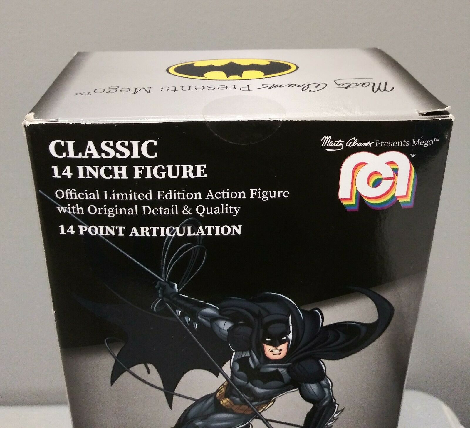 Marty Abrams Mego BATMAN DC Classic 14 Inch Figure Brand New Unopened 2018