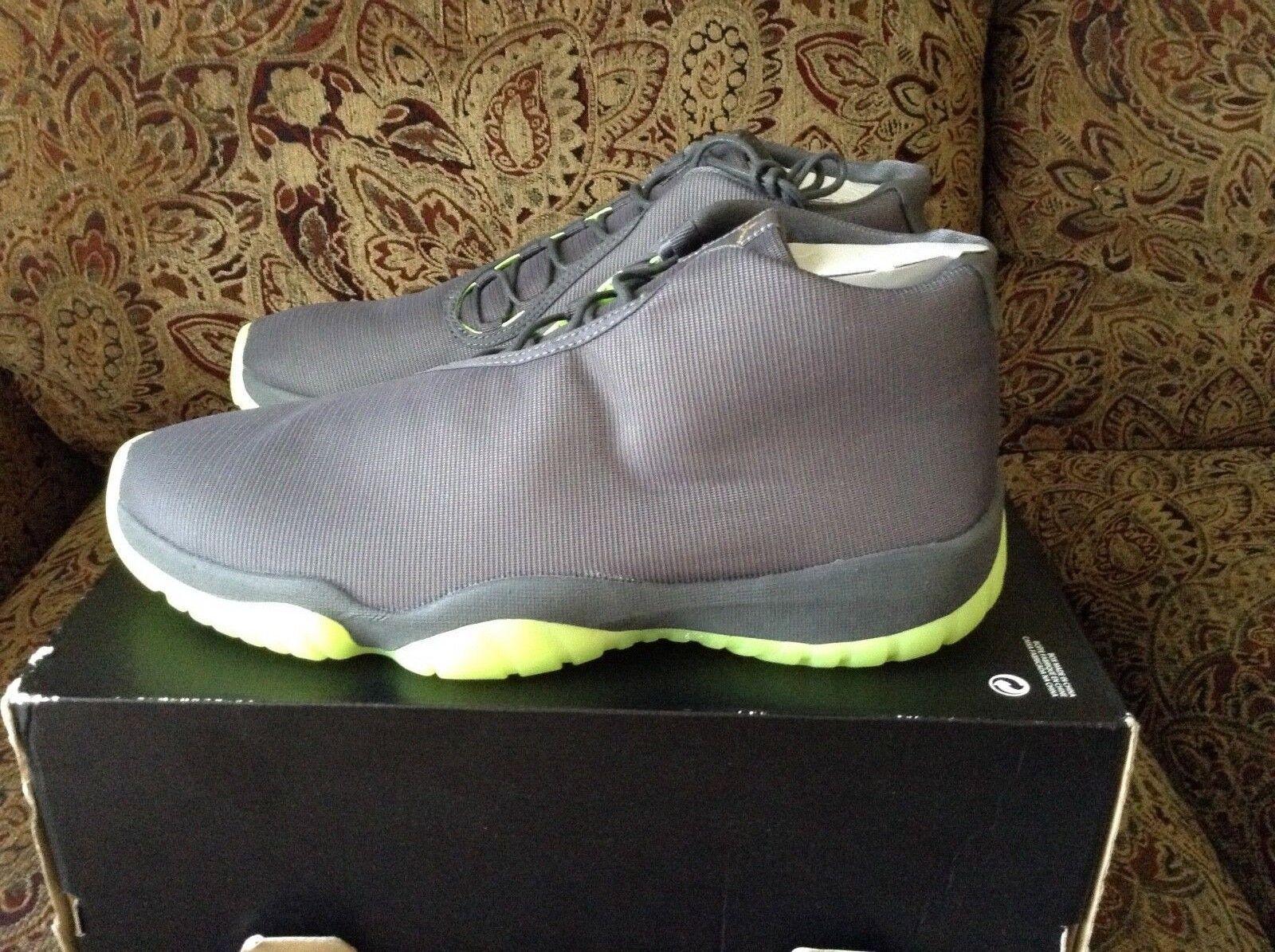 timeless design 91e83 27f1b Nike Air Jordan futuro Gris Gris Gris Volt 3M 656503-025 comodo gran  descuento 30ec5a