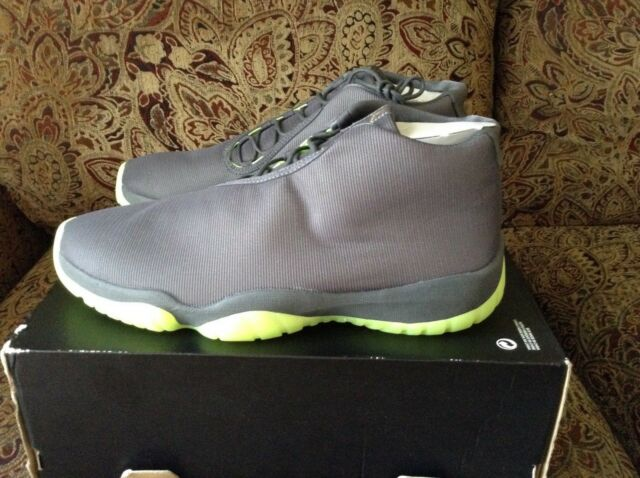 Nike Air Jordan Future 11 XI Dark Greyvolt 3m Reflective Men's Shoes Size 9