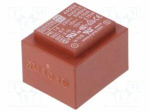 Transformador-Revestido-1-5VA-230VAC-15V-15V-50mA-50mA-44094-Pcb-Transformatore