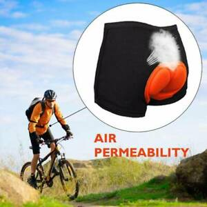 Men 3D Gel Padded Bicycle Cycling Bike Underwear Short Pants Riding Shorts Soft