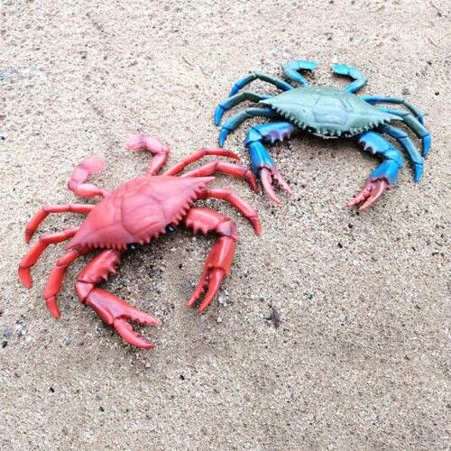 Kids Toy Plastic Realistic Sea Large  Size Animal Red Crab Model Figure Gifts