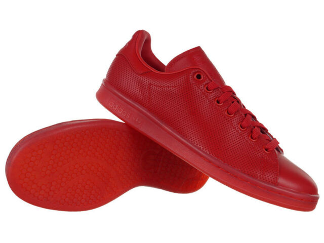 info for c8a0c 9d0f0 adidas Originals Stan Smith Adicolor Red Trainers Unisex Sneakers Shoes