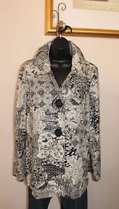 3-Sisters-Jacket-Swing-Dressy-Light-Coat-S-M-L-XL-Sian-USA-6179-3S191