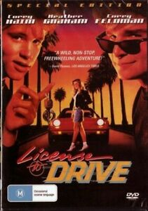 License-to-Drive-DVD-Corey-Haim-Heather-Graham-New-and-Sealed-Plays-Worldwide
