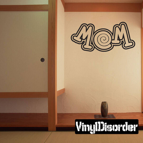 Mom Family and Friends Vinyl Wall Decal Mural Quotes Words -fa041momi