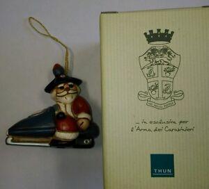 Thun carabinieri anno 2015 statuina babbo natale in for Thun in offerta