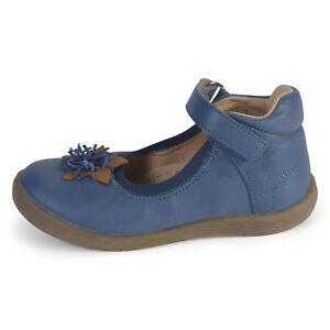 cb1a9eff967d Image is loading Babybotte-Girls-Safran-Infant-Blue-Leather-Shoes
