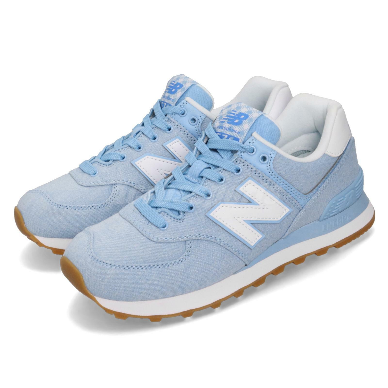 New balance WL574SKB B azul blancoo goma de masCoche Mujer Running Zapatos TENIS WL 574 skbb