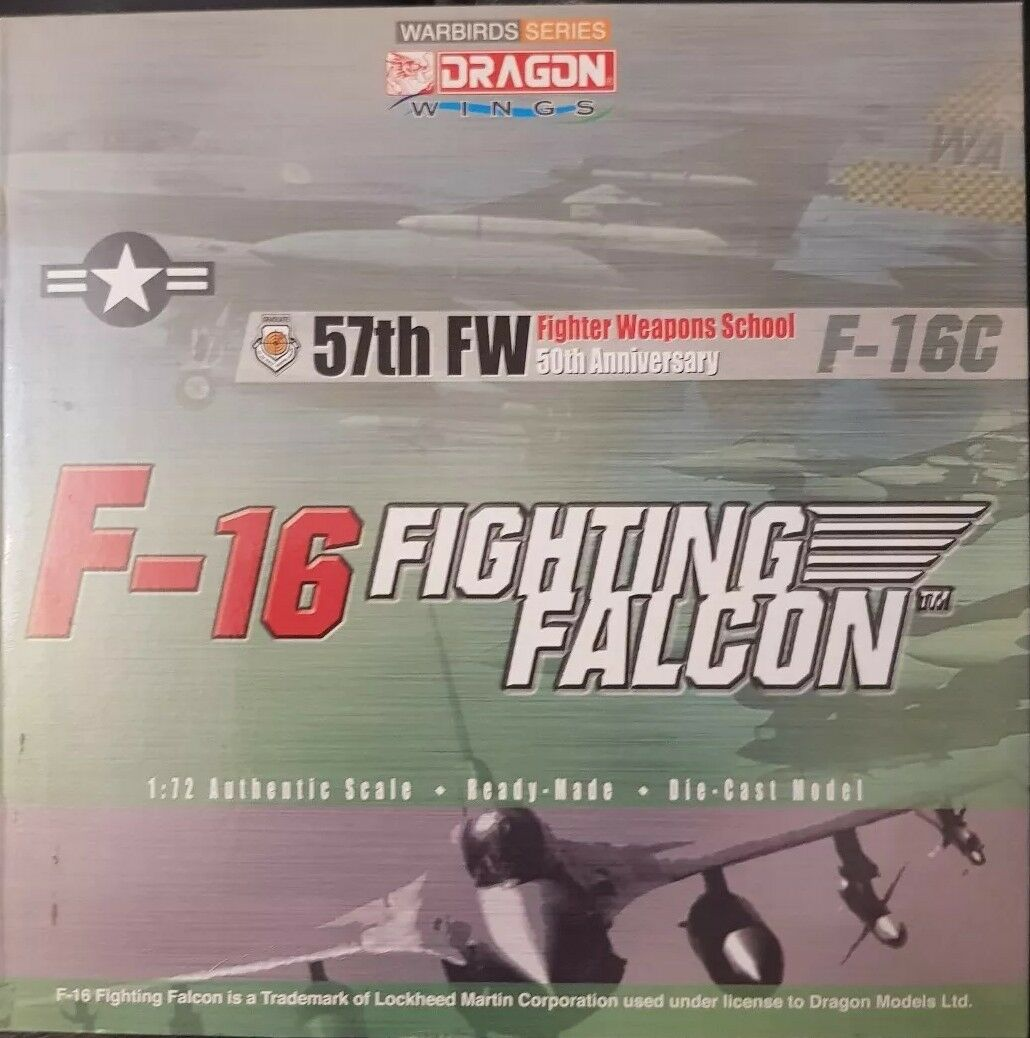 Dragon Wings Warbird Series F-16 Fighting Falcon 57th FW fighter weapons school