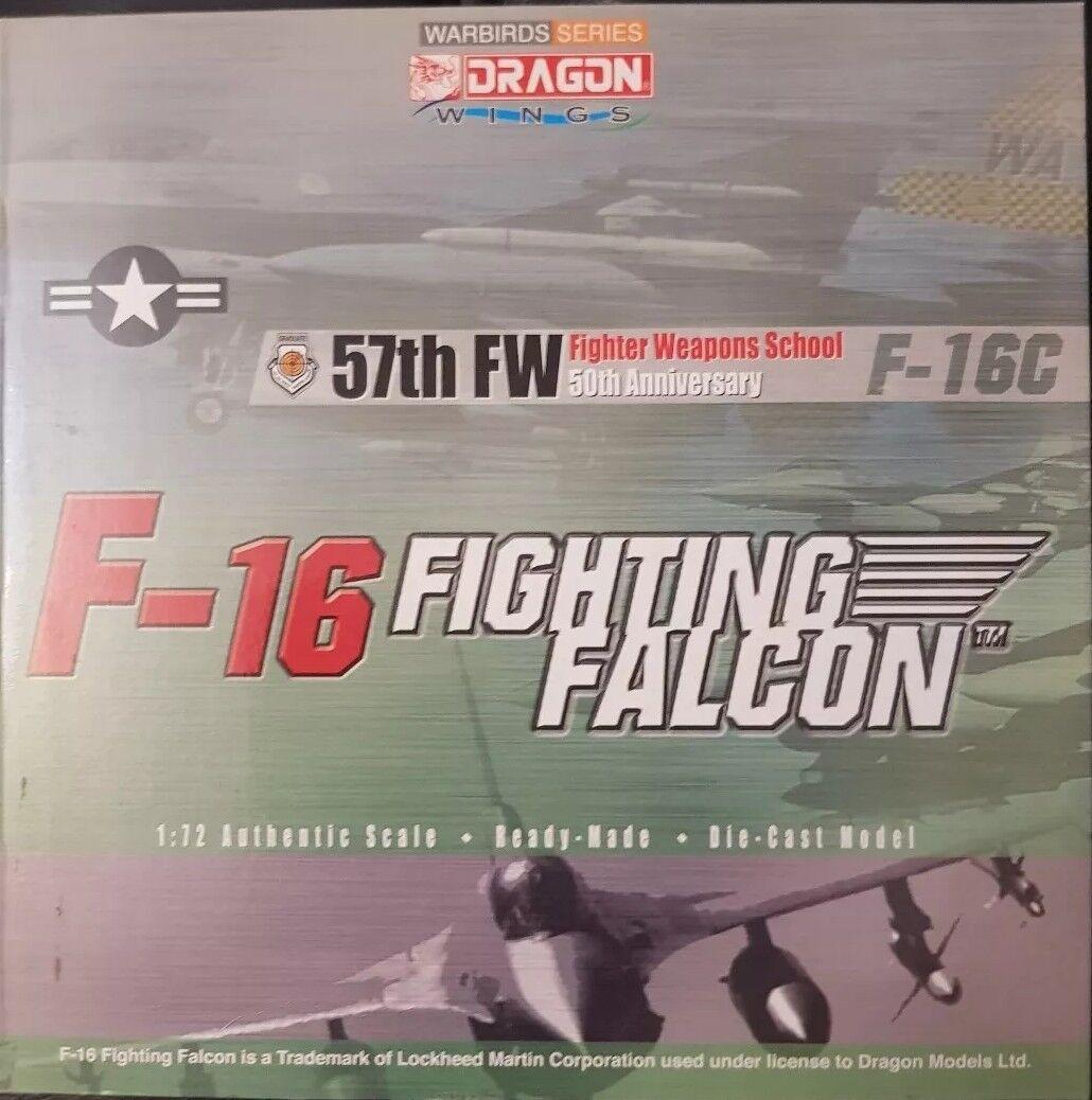 Dragon Wings Warbird SERIE F-16 FIGHTING FALCON 57th FW Armi da Caccia Scuola