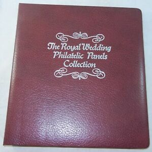 42-Pages-THE-ROYAL-WEDDING-PHILATELIC-PANELS-COLLECTION-CHARLES-amp-DIANA-STAMPS